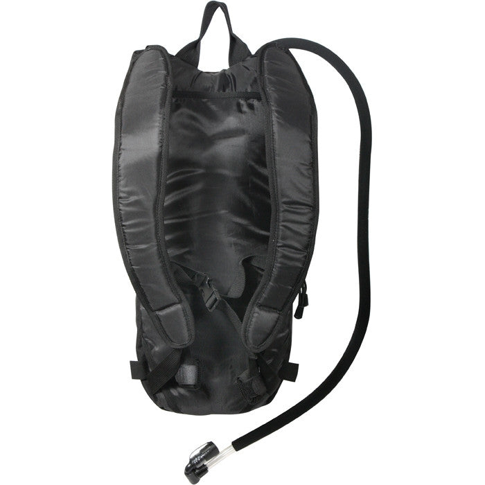 Black - Rapid Trek Tactical MOLLE Hydration Pack