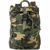 Woodland Camouflage - Water Resistant Travel Knap Sack