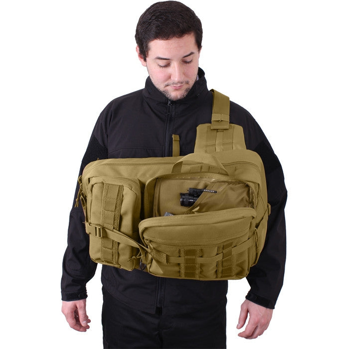 Coyote Brown - Military & Tactical Tactisling Transport Pack