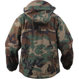 Woodland Camouflage - Tactical Special Operations Soft Shell Jacket