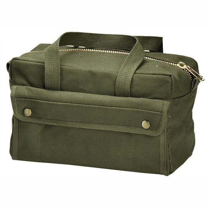 Olive Drab - Military GI Style Improved Mechanics Tool Bag - Cotton Canvas