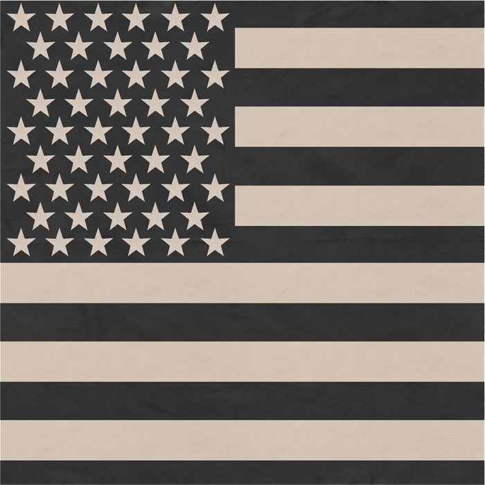 Subdued - US American Flag Bandana 27 in. x 27 in.