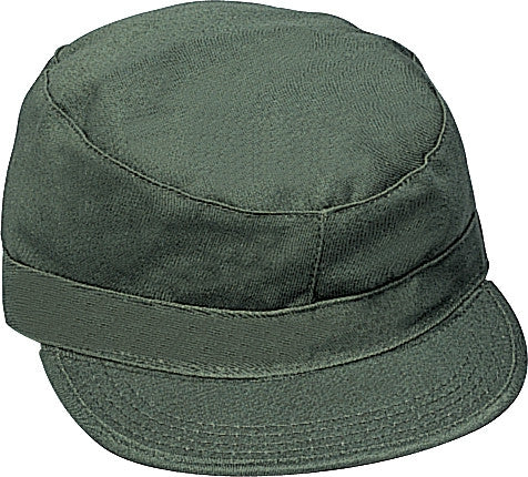 Olive Drab - Military Fatigue Cap - Polyester Cotton