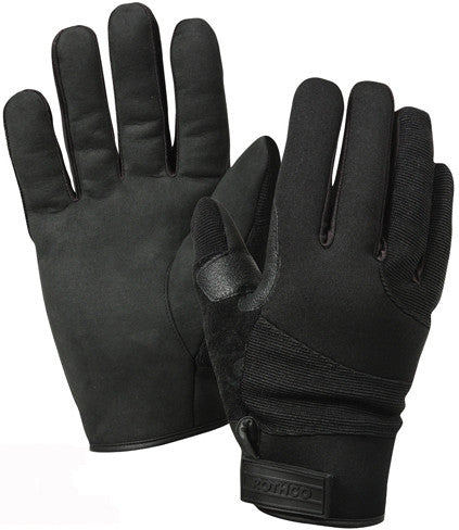 Black - Fire and Cut Resistant Cold Weather Gloves