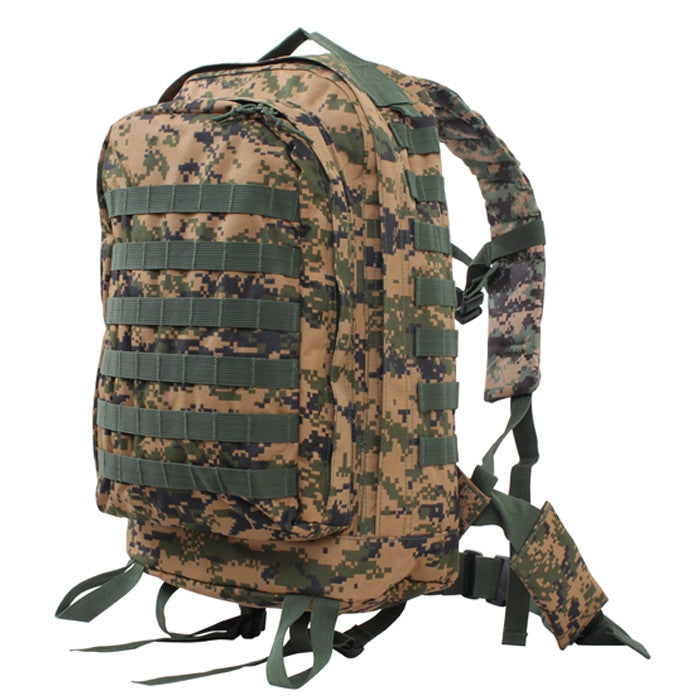 20302e6705f3 Digital Woodland Camouflage - MOLLE II 3 Day Assault Pack - Army ...