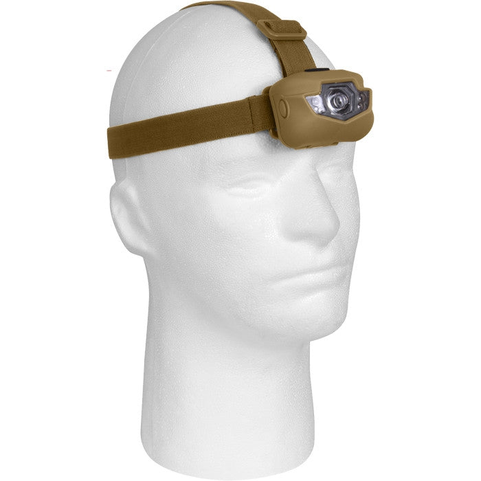 Coyote Brown - Multi Function LED Headlamp