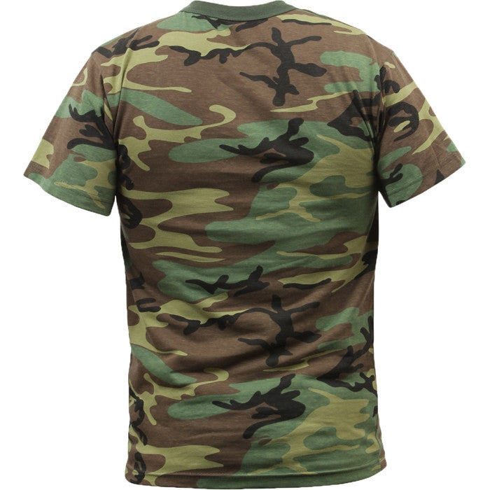 Woodland Camouflage - Military T-Shirt - Army Navy Store 4fb23889831c