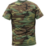 Woodland Camouflage - Military T-Shirt