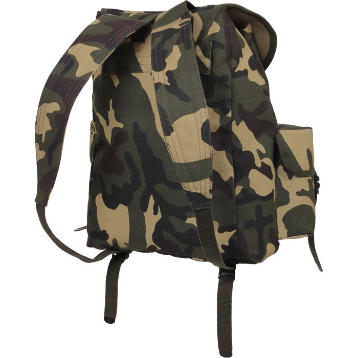 Woodland Camouflage - Army Style Mini ALICE Pack 13 in. x 16 in. x 7 in.