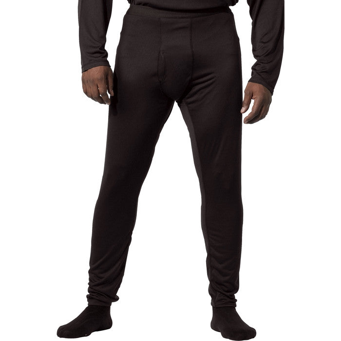 Black - ECWCS Generation III Silk Weight Pants