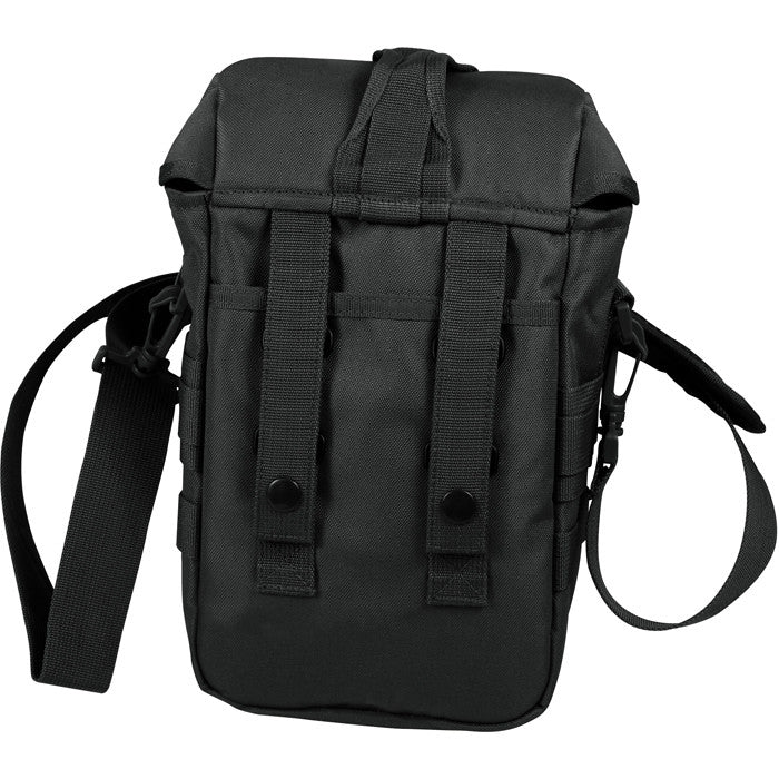 Black - Tactical MOLLE Shoulder Bag