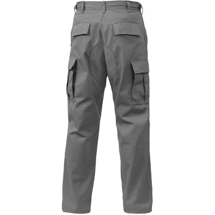 Grey - Military BDU Pants - Polyester Cotton Twill