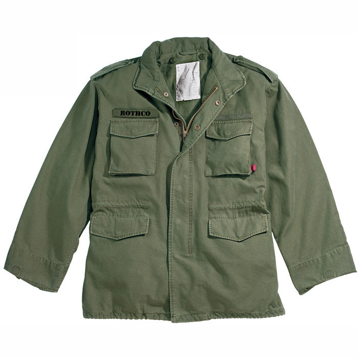 Olive Drab - Military Vintage M-65 Field Jacket