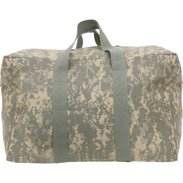 ACU Digital Camouflage - Military Parachute Traveling Cargo Bag