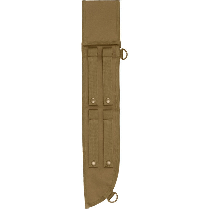 Coyote Brown - Tactical MOLLE 18 in. Jungle Machete Sheath