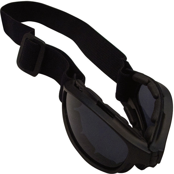 Black - Collapsible ComTec Tactical Goggles