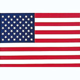 Red White Blue - US American Flag Decal - Back-Gum