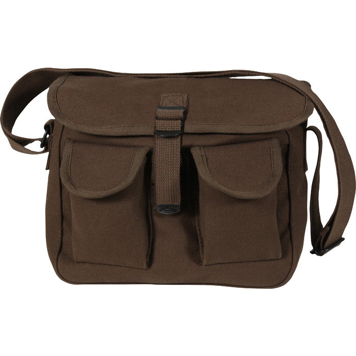 Earth Brown - Army Ammo Shoulder Bag