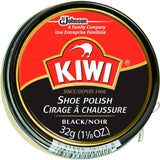 Kiwi Black - High Gloss Shoe Polish - USA Made