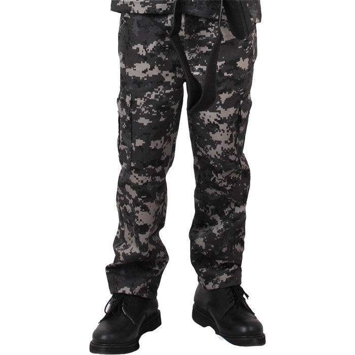 908ebbd7 Subdued Urban Digital Camouflage - Kids Military BDU Pants - Army ...