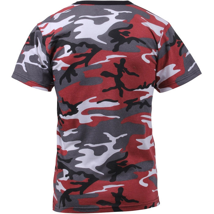 Red Camouflage - Military T-Shirt
