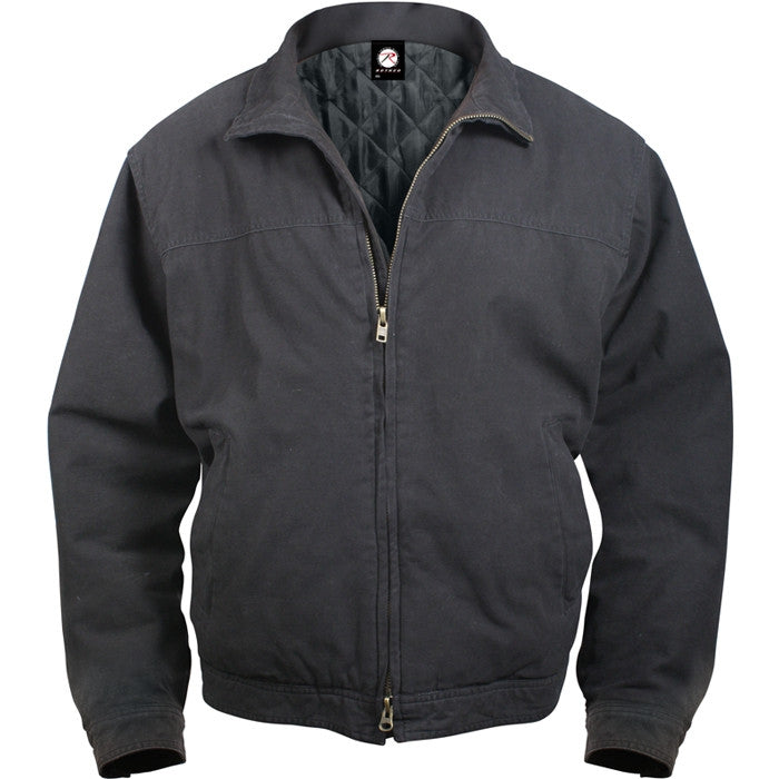 Black - Tactical 3 Season Concealed Weapon Carry Jacket