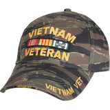 Tiger Stripe Camouflage - Vietnam Veteran Low Profile Cap