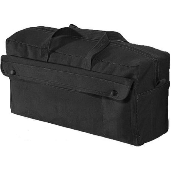 Black - Jumbo Mechanics Tool Bag - Cotton Canvas