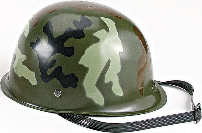 Woodland Camouflage - Kids Military Helmet