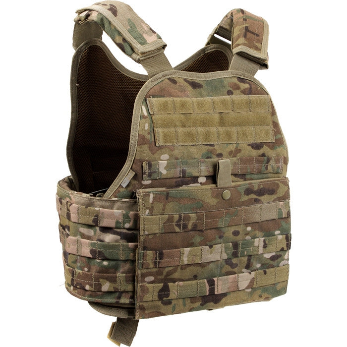 db00f67ab8328 Multicam Camouflage - Military Tactical MOLLE Plate Carrier Armor Vest