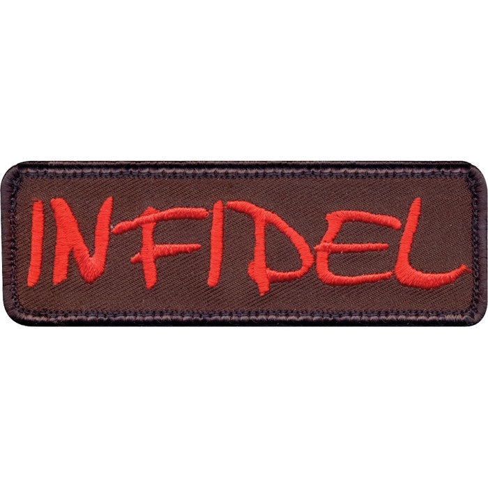 Infidel Patch with Hook Back