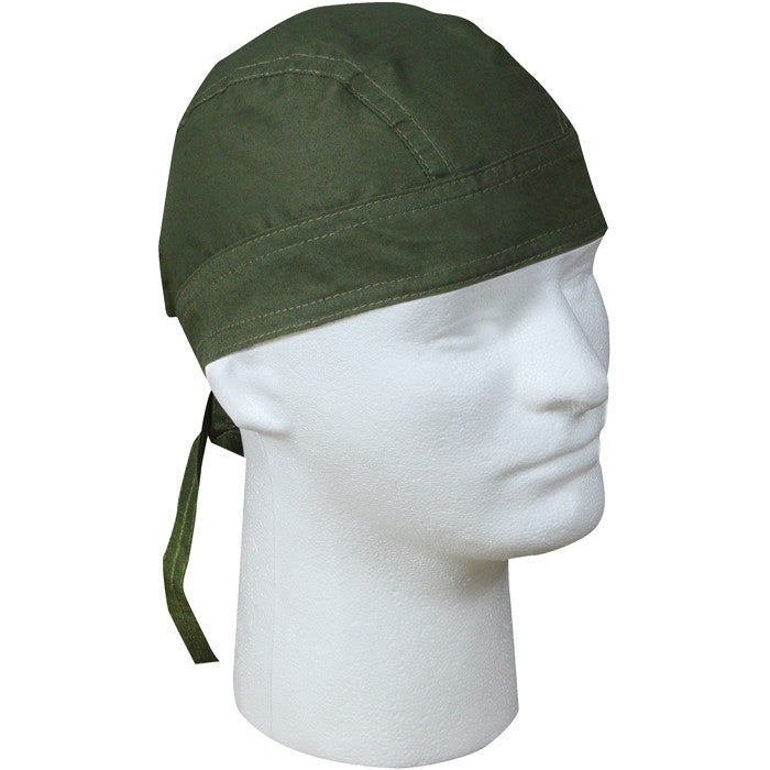 Olive Drab - Solid Color Headwrap