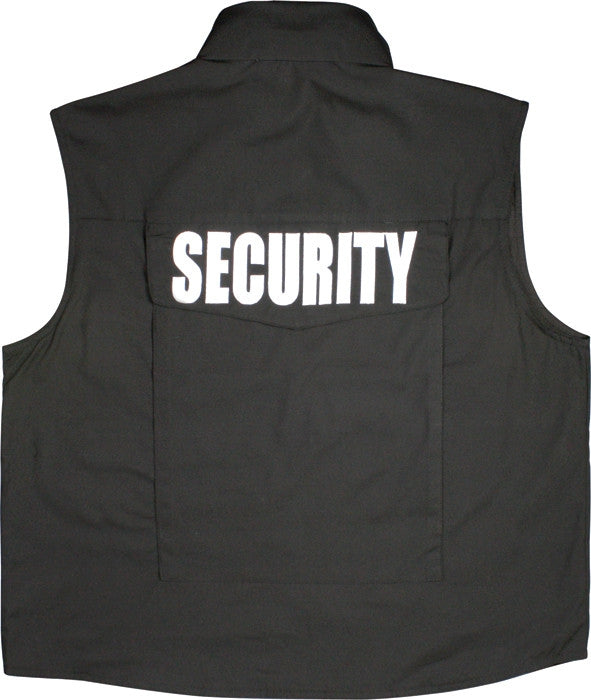 Black - Tactical Law Enforcement SECURITY Ranger Vest