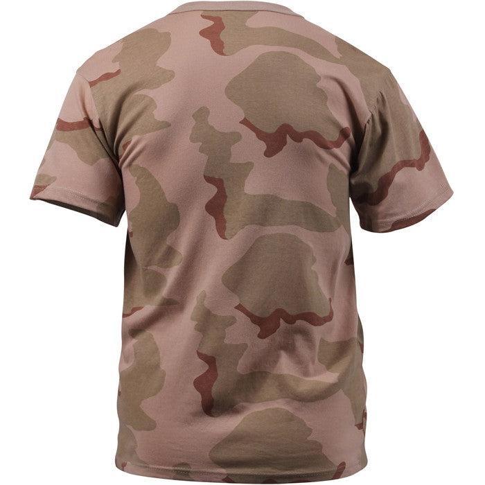 Tri-Color Desert Camouflage - Military T-Shirt