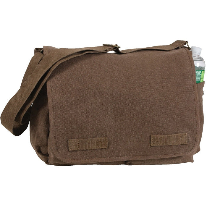Earth Brown - Heavyweight Classic Messenger Bag