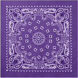 Purple - Trainmen Jumbo Bandana 27 in. x 27 in.
