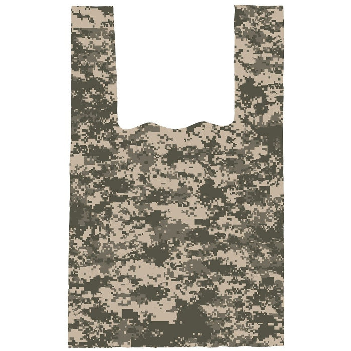 ACU Digital Camouflage - Medium Size Shopping Bag 100 Pack