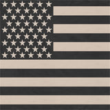 Subdued - US American Flag Bandana 22 in. x 22 in.