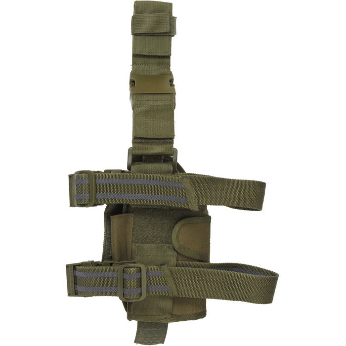 Olive Drab - Deluxe Leg Strap Adjustable Tactical Holster