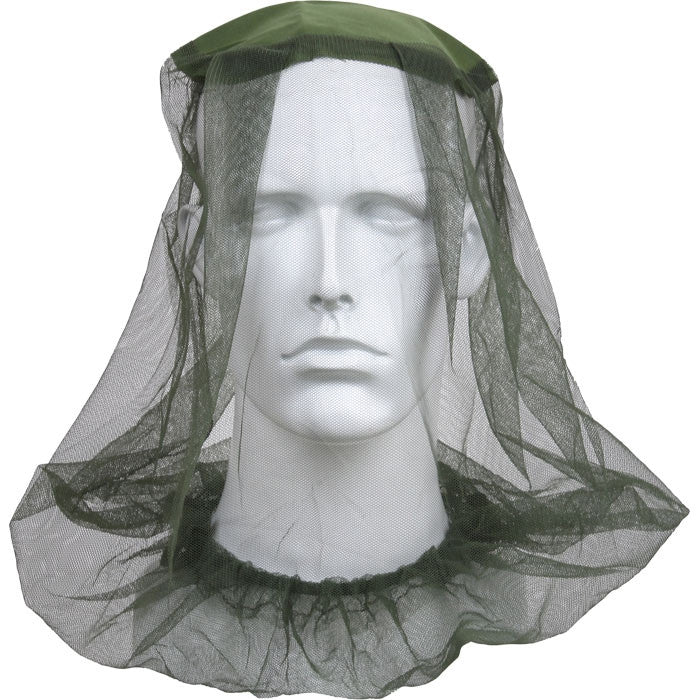 Olive Drab - Military Pocket Mosquito Head Net