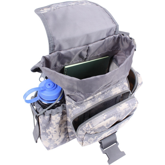ACU Digital Camouflage - Military MOLLE Compatible Advanced Tactical Shoulder Bag