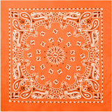 Orange - Trainmen Jumbo Bandana 27 in. x 27 in.