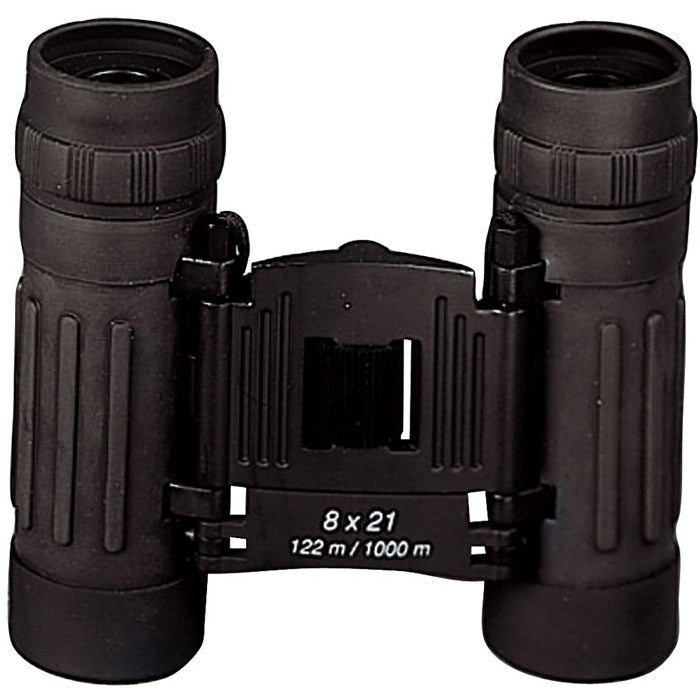 Black - Military GI Style Compact Binoculars 8 x 21mm