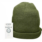 Olive Drab - Genuine GI Wintuck Watch Cap - Piltrol Acrylic USA Made