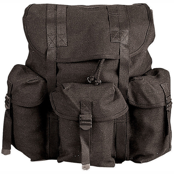 Black - Army Style Mini ALICE Pack 13 in. x 16 in. x 7 in.