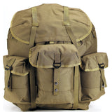 Olive Drab - Military GI Enhanced ALICE Pack with Frame 22 in. x 20 in. x 19 in.