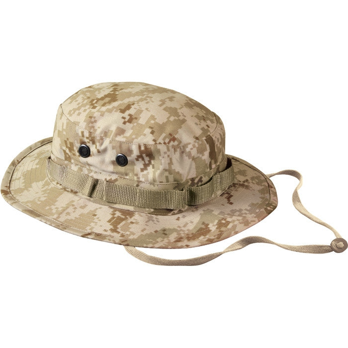 Digital Desert Camouflage - Military Boonie Hat