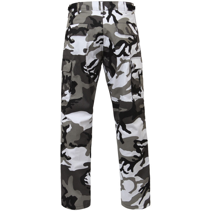 City Camouflage - Military BDU Pants - Polyester Cotton Twill