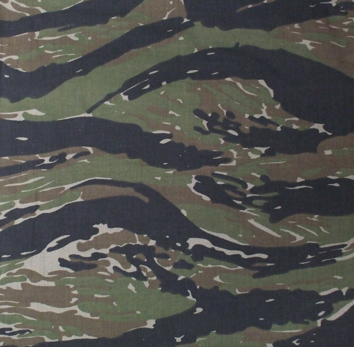 Tiger Stripe Camouflage - Military Jumbo Bandana 27 in. x 27 in.