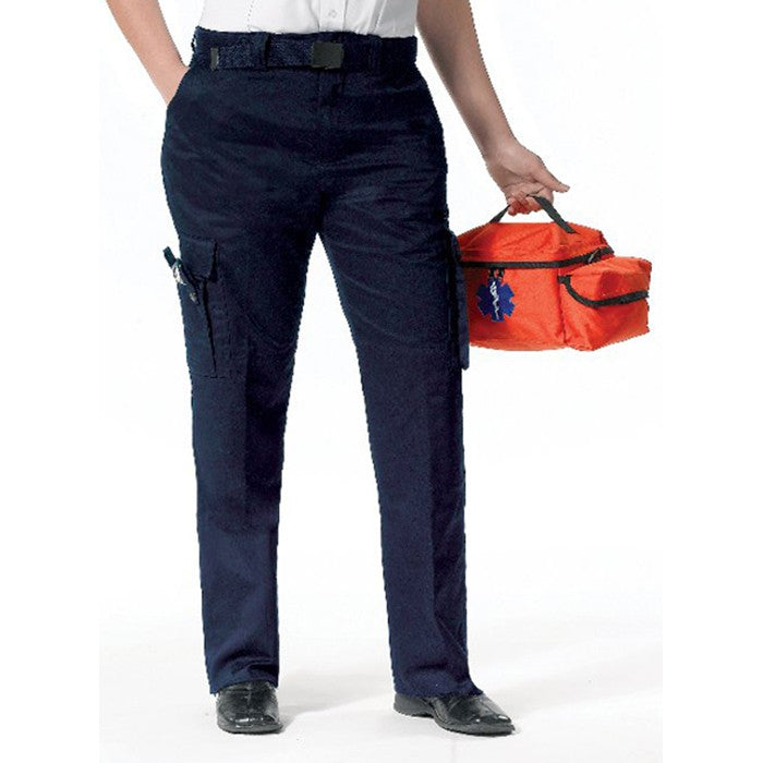 Navy Blue - Womens 9 Pocket EMT Pants